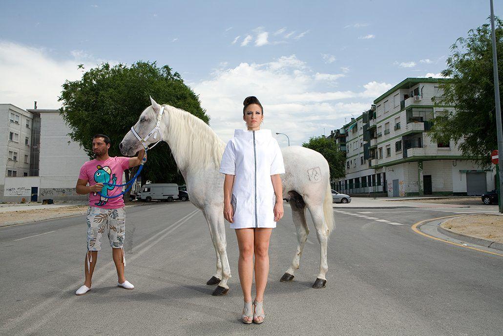 Fotografía de moda realizada por el fotógrafo y docente Cecilio Puertas.
